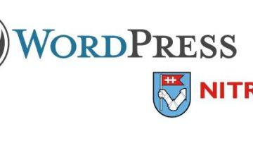 wordpress nitra