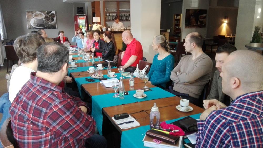 ranne stretnutie podnikatelov v Nitre